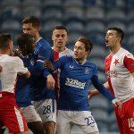 UEFA bans Slavia Prague's Ondrej Kudela for racially abusing Ranger's Glen Kamara