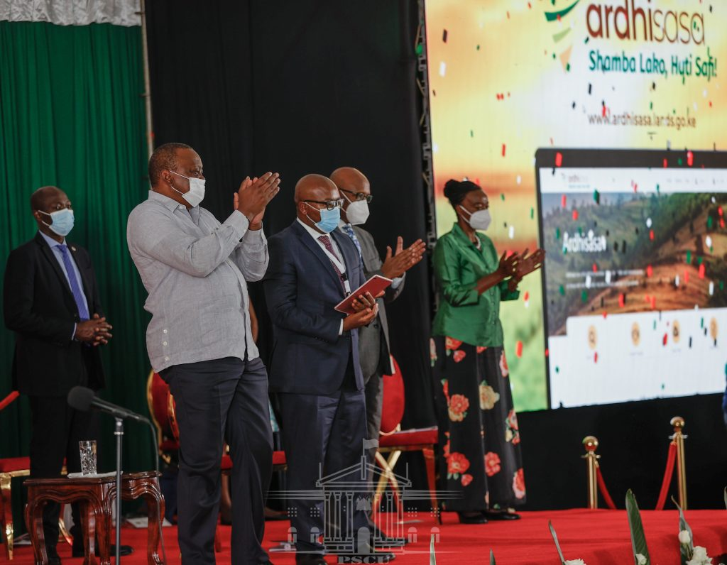 The Ministry of lands has officially launched Ardhisasa platform that will see digitalization of land records in Nairobi county.