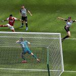 Aubameyang and Elneny on target as Arsenal beat Newcastle