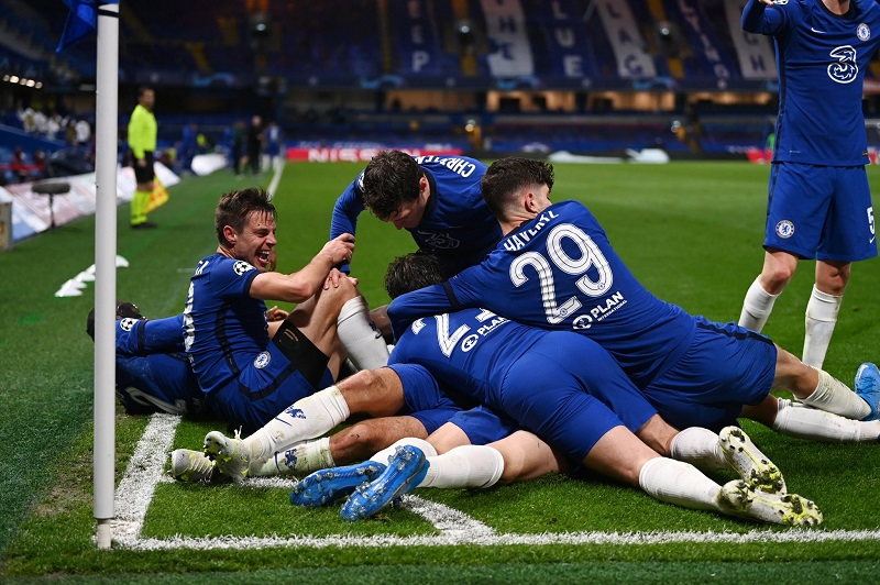 Chelsea beat Real Madrid