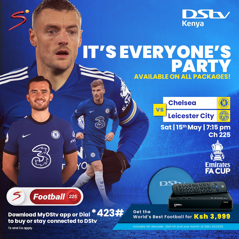 """•This weekend SuperSport turns up the football fever as all active DStv customers as well as GOtv Plus customers score big with a coveted """"all-access"""" pass to enjoy a front-row view of the final  of the most celebrated football cup competitions ."""