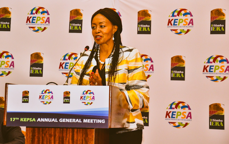 Flora Mutahi is part of the new leadership team unveiled during Kepsa's 17th Annual General Meeting which was held virtually.