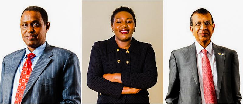 The three directors are; Ms Gladys Karuri, Dr Kaushik Manek, and Mr Adan Mohammed.