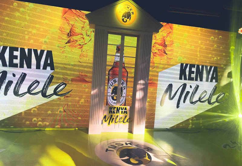 Kenya Breweries Limited (KBL) through its flagship beer brand Tusker Lager has embarked on an integrated marketing communication campaign to celebrate the indomitable spirit of all Kenyans.