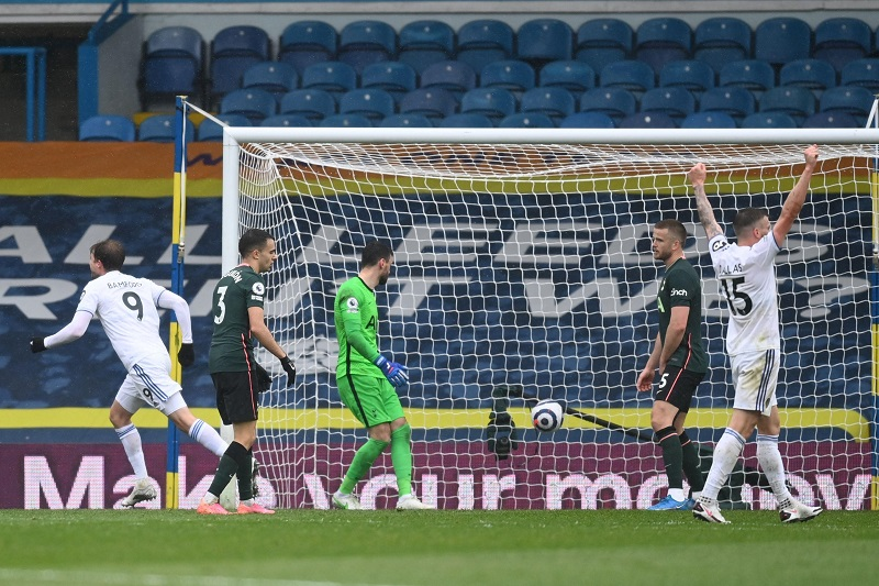 Leeds dent Tottenham's top-four finish with 3-1 win