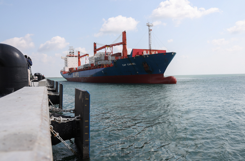 When complete, the Shs 310 billion port will have 32 berths, 29 of which will be financed by the private sector, making it the largest deep-water port in Sub-Saharan Africa.