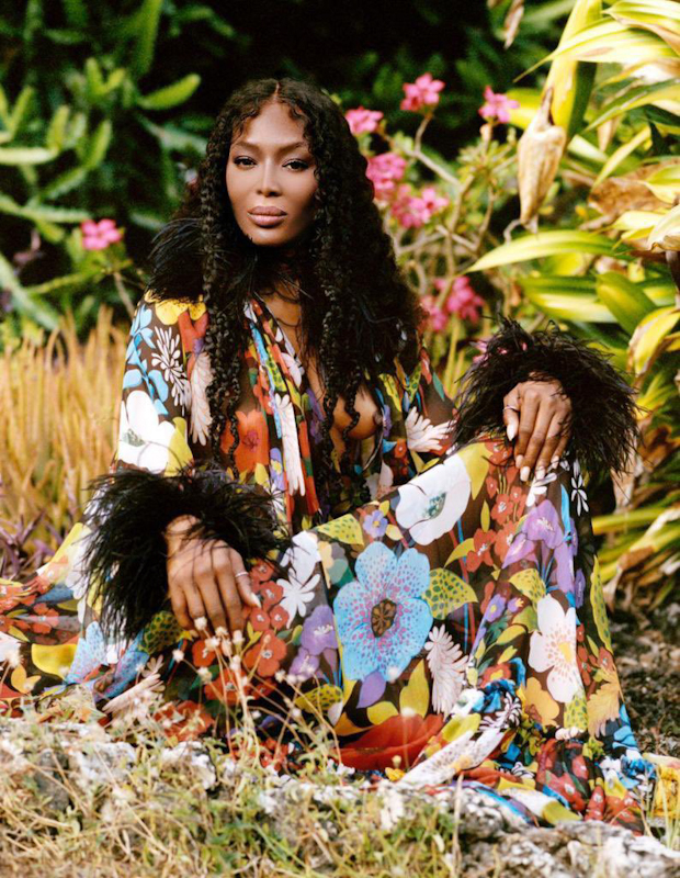Supermodel Naomi Campbell has announced that she has become a mother.