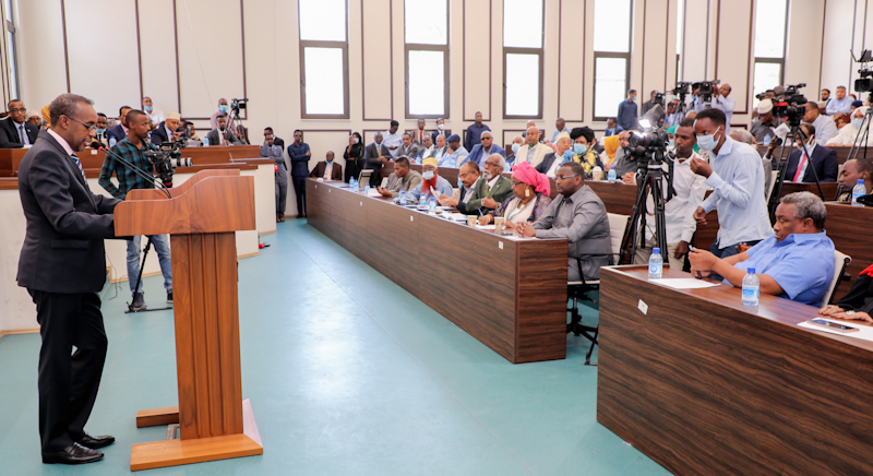 Somali Parliament, its 140 members, voted unanimously on Saturday cancelling a two-year presidential term extension for President Mohamed Abdullahi Mohamed.