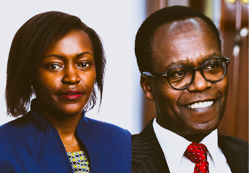 Members of the banking industry's lobby organization Kenya Bankers Association (KBA) have elected NCBA Bank Managing Director and CEO John Gachora and Family Bank Chief Executive Officer Rebecca Mbithi as the incoming Chairperson and Vice Chairperson, respectively, for the period 2021 to 2022.