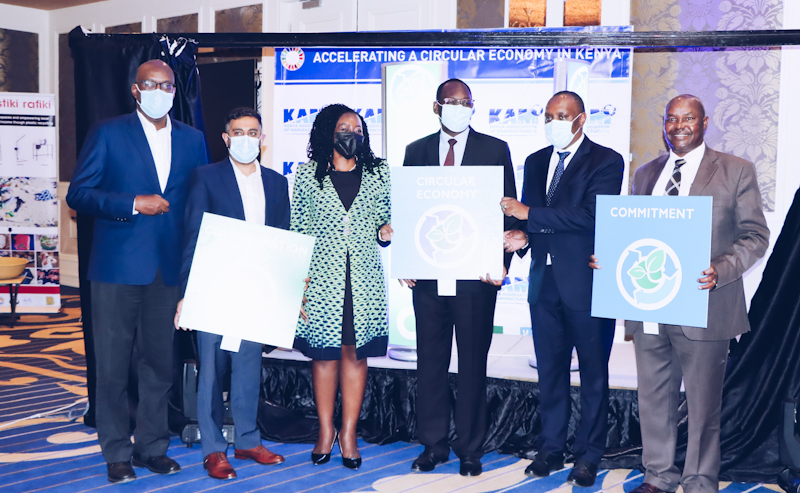 Kenya Association of Manufacturers launches organization to address post-consumer waste