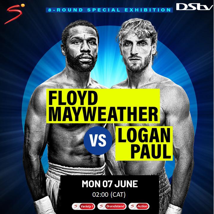 Floyd Mayweather vs. Logan Paul fight date, time