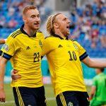 EURO 2020: Sweden strike late to knockout Poland