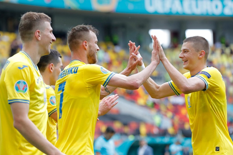 Andriy Shevchenko's side rebounded from their late heartbreak against the Netherlands on matchday one.