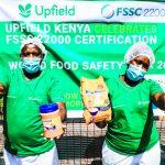 Upfield Kenya Achieves Global Food Safety Certification