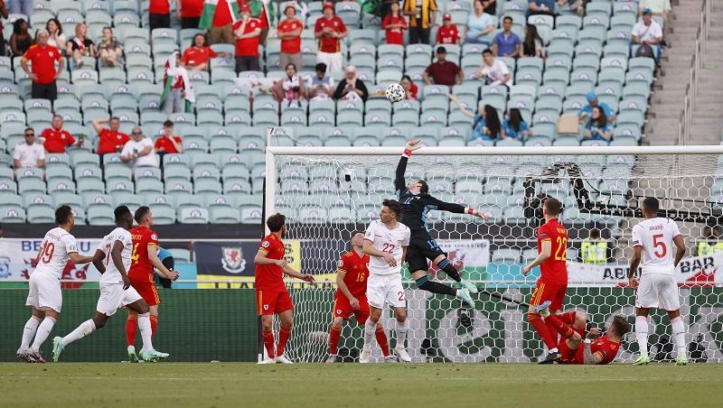 Switzerland and Wales draw 1-1