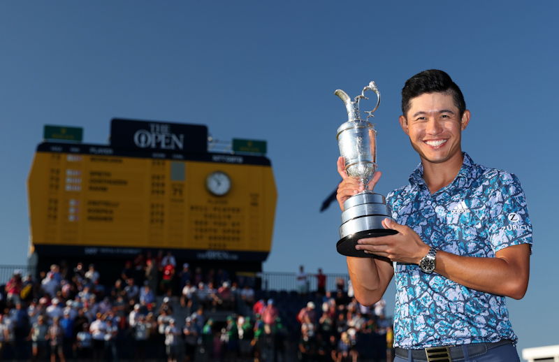 Collin Morikawa, a 24-year-old American won the British Open with a bogey-free, 4-under 66 Sunday.