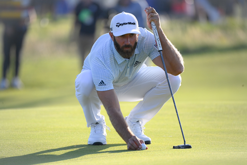One of the main threats to Thompson's title will come from world number two ranked Dustin Johnson.
