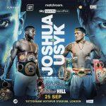 Boxing: Anthony Joshua to defend titles against Oleksandr Usyk on September 25