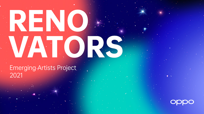 OPPO Renovators - The Emerging Artists Project is an international activity for the next generation of artists.