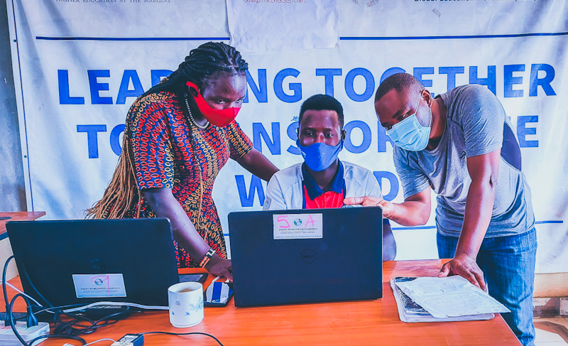 The training which will run until December is a collaboration between Intel Corporation, Jesuit Worldwide Learning (JWL) and AsyTec a local Original Equipment Manufacturer.