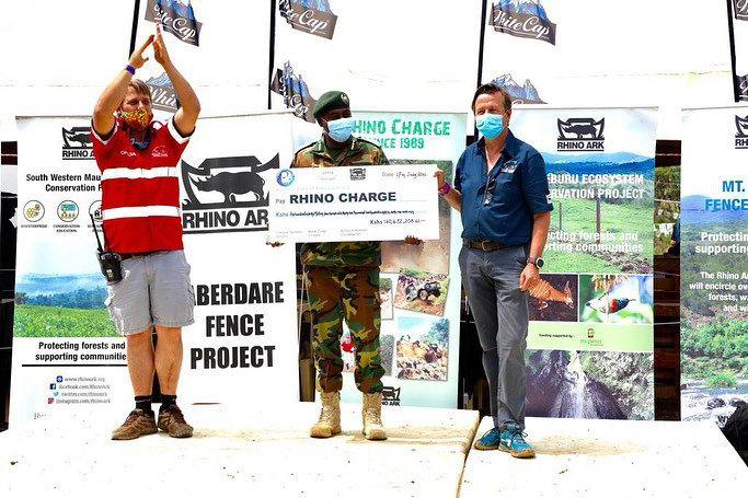 The 2021 Rhino Charge spectacularly ends by raising Ksh. 140,432,208 that will be ploughed back to various forest and wildlife conservation projects