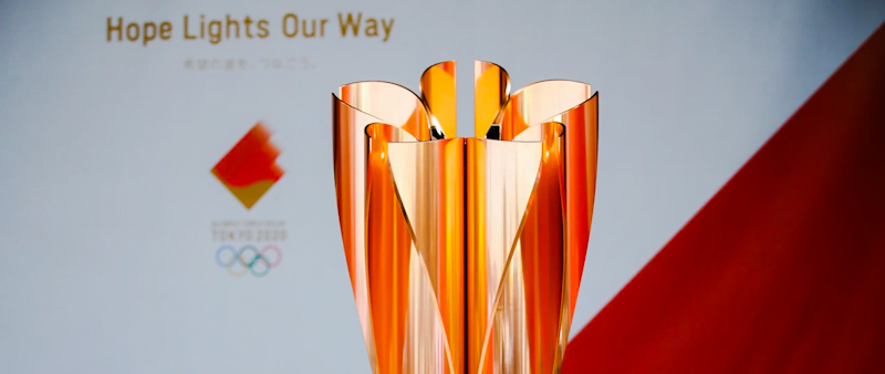 """The concept for the Tokyo 2020 Olympic Torch Relay across Japan will be """"Hope Lights Our Way"""", uniting the Japanese people around messages about supporting, accepting and encouraging one another."""