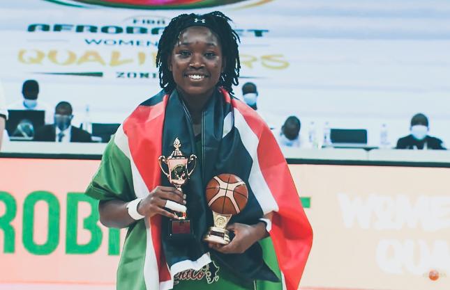 Victoria Reynold Wanjara most valuable player