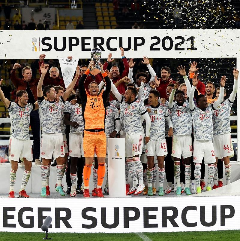 Bayern Munich beat Borussia Dortmund 3-1 to lift DFL Supercup