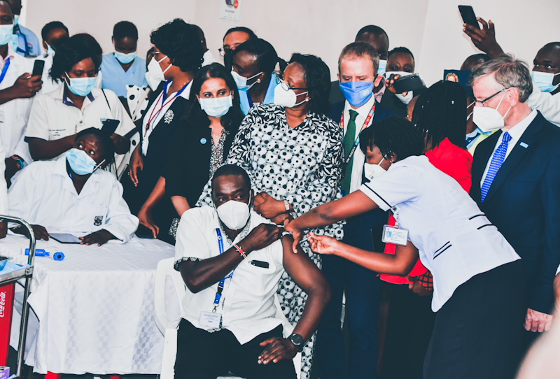 The number of people vaccinated against the COVID-19 virus in Kenya has reached more than 1,768,519, the Ministry of Health said on Friday.