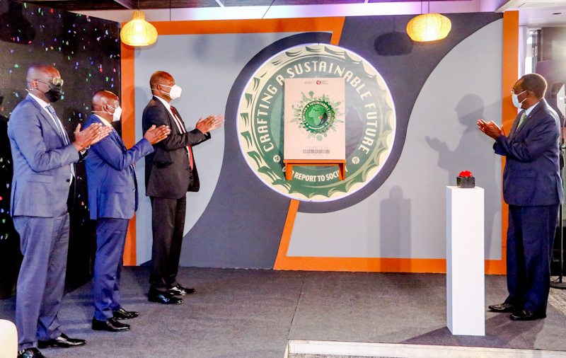 East African Breweries Limited (EABL) has today launched its inaugural Environmental, Social and Governance report to society.