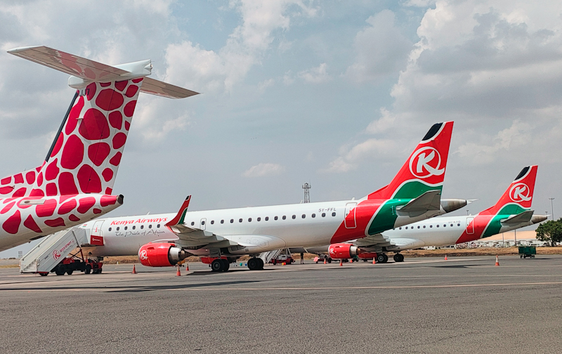 Kenya Airways signs aircraft lease, codeshare partnership with Congo Airways