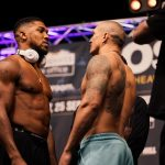 Boxing: Anthony Joshua weighs 19lbs heavier than Oleksandr Usyk