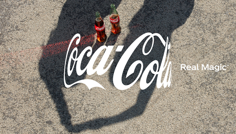"""Brand Introduces Real Magic, Its First New Global Platform Since 2016 and reveals the """"Hug,"""" a New Perspective on the Iconic Coca-Cola Logo and its first global campaign """"One Coke Away From Each Other,"""" under the platform"""