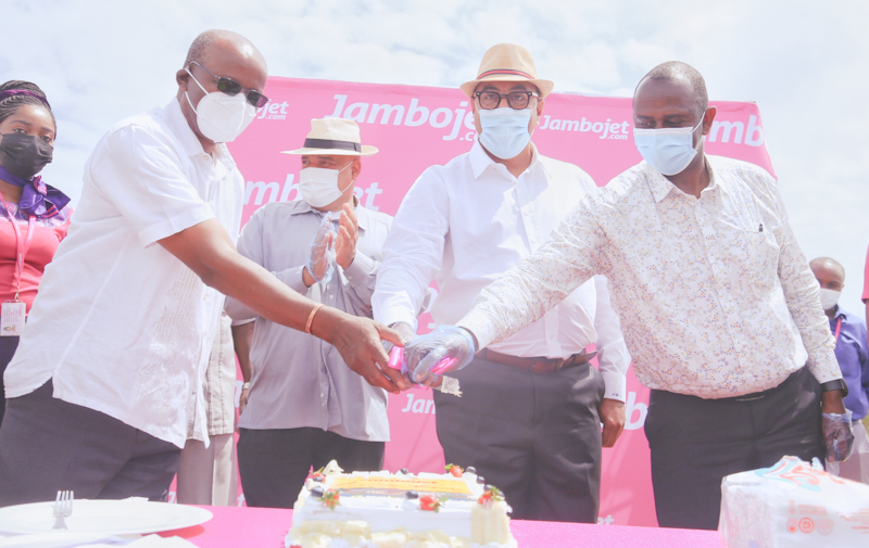 Jambojet will fly from Nairobi to Lamu via Mombasa four times weekly with an introductory fare of KES. 7100 one way from Nairobi to Lamu. Mombasa to Lamu will start at KES. 4600 one way.