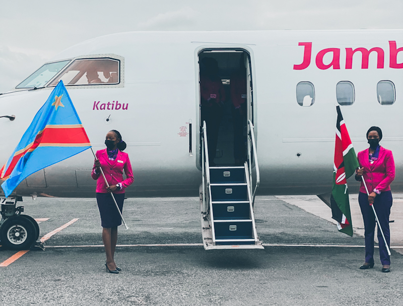 Kenya's budget airline Jambojet, commenced its twice weekly flights service to the eastern Democratic Republic of the Congo city of Goma on Friday.