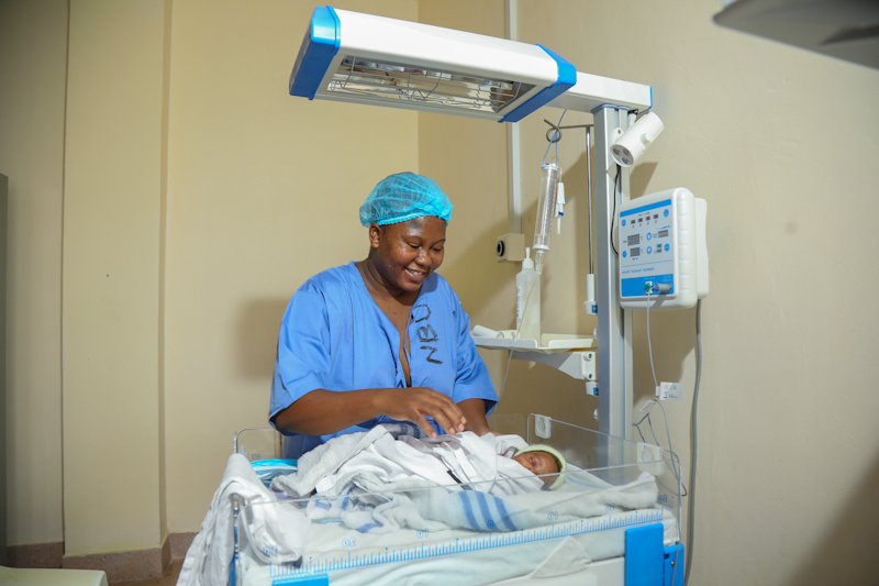 Through the new facility, the county aims to reduce infant mortality rates, encourage skilled newborn care and decrease neonatal complications.