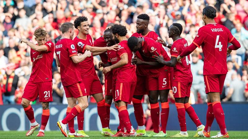 Liverpool thrash Crystal Palace 3-0 at Anfield