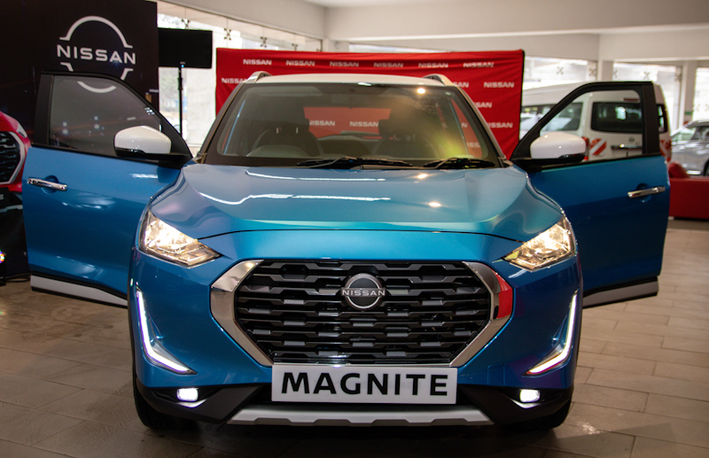 Japanese automobile maker Nissan Motor Corporation, unveiled its compact sports utility vehicle (SUV) Magnite in the Kenyan market.