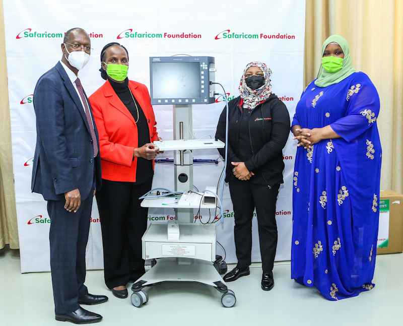 The Foundation officially handed over an Endoscopic Ear Surgery Equipment to support ODE-K outreach programmes for the hearing impaired