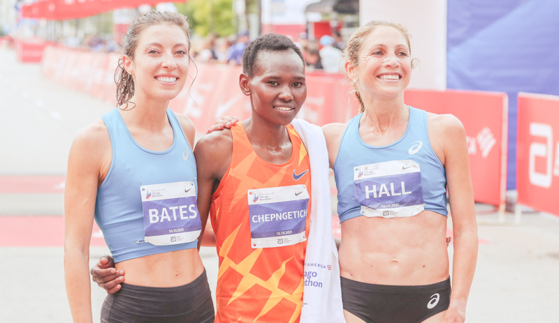Kenya's Ruth Chepngetich, and Ethiopia's Seifu Tura won the women's and men's titles respectively on Sunday at the 43rd Chicago Marathon.