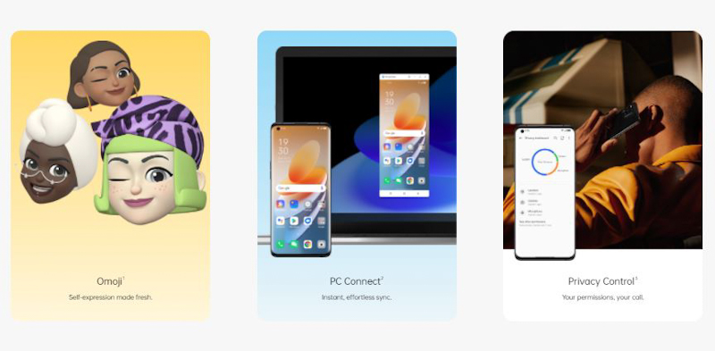 ColorOS 12 is based on Android 12, the revolutionary update of one of the world's most popular OS. Crafted on that foundation, our own upgrades are carefully designed to make ColorOS 12 the most streamlined and intuitive experience imaginable.