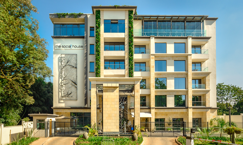 The Social House Nairobi has been awarded with one of two runners up spots in the Best Urban Hotel category of the 2021 National Geographic Travellers' annual Hotel Awards.